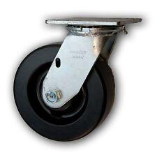 """6"""" x 2"""" Heavy Duty Swivel Caster w/ Phenolic Wheel 1200#"""