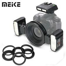 Meike MK-MT24 2.4G Macro Twin Lite Flash with Trigger Per Nikon DSLR fotocamere