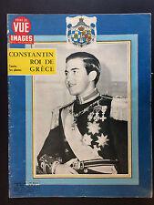 point de vue N°822 constantin roi de grece  1964