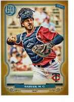 Mitch Garver 2020 Topps Gypsy Queen 5x7 Gold #145 /10 Twins