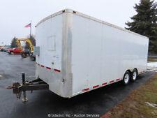"New Listing2011 Team Spirit 20' 6"" T/A Enclosed Trailer Utility Van Fold Down Ramp bidadoo"