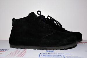 Birkenstock Dundee Suede Black Boot Women 37 Reg
