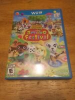 Animal Crossing: Amiibo Festival (Nintendo Wii U, 2015) Amiibo Not Included