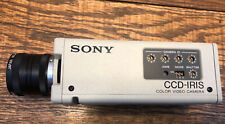 Sony CCD IRIS -DXC-107A Video Camera Professional Canon Phf6mm 1:1.2 Tv Lens