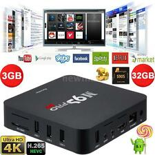 M9S-PRO UHD Smart Android 6.0 Quad Core 3G/32G TV Box 4K Movie WIFI Media Player