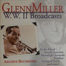 Glenn Miller - WWII Broadcasts  (CD 2000 Laserlight) Near MINT