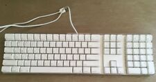 Genuine Original Apple Keyboard A1048 USB Clear Case White keys FREE SHIPPING!!!