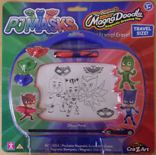 PJ Masks ~ Magna Doodle Travel Size ~ Magnetic Board Draw, Stamp, Erase