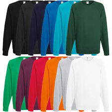 Fruit of the Loom Herren Pullover Sweatshirt Pulli Shirt Jacke S M L XL XXL