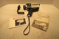 GAF Anscomatic Super 8 Movie Camera S/84 Xytar Reflex Zoom Lens F:1.7 with Case