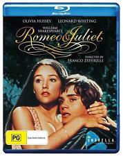 ROMEO & JULIET (1968) Region Free [Blu-ray] Leonard Whiting And Olivia Hussey