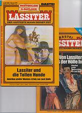 40 verschiedene LASSITER Romanhefte Western  (0-1) Top ungelesen div. Auflagen