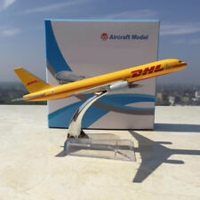 Boeing 757-200 B757 DHL Express Delivery Airplane 1/400 Yellow Aircraft Diecast