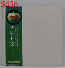 "THE BEATLES WHITE ALBUM APPLE AP-8570,1 ""NM"" w/Poster Japan OBI Vinyl 2LP S436"