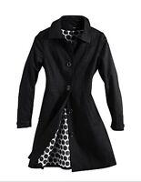 H&M Mantel Trenchcoat schwarz  Gr.36