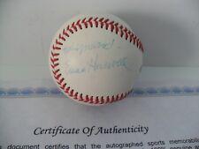 Detroit Tigers Ernie Harwell Autographed Signed Baseball COA Rawlings Leather