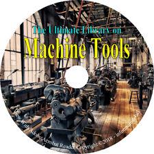 Machine Tools 43 Books DVD – Machinery Design Reference Machine Shop Handbook