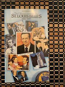 St. Louis Blues Media Guides (1982-83, 83-84, 84-85, 85-86, 86-87, 87-88, 89-90)