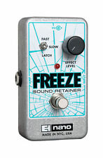 Electro-Harmonix Freeze Sustain Guitar Effect Pedal