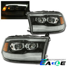 [2019 Style] LED DRL Projector Headlights For 2009-2018 Dodge Ram 1500/2500/3500