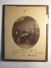 Wingolf Erlangen - 1867 - Gruppenbild mit Namen / Foto