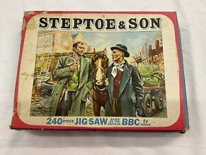 Vintage 1964 Tower Press Jigsaw Puzzle Steptoe & Son Complete And Boxed