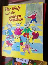 Isi: Der Wolf und die sieben Geißlein Schwager & Steinlein Bilderbuch