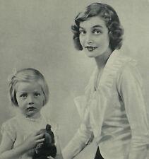 Aline Margaret Mary McClaren Cumming Deirdre Craig 1934 Photo Article 6708