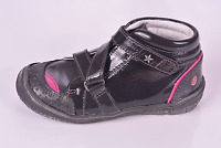 GBB Girls Ladonna Black Patent Leather Shoes UK 7 EU 24 US 7.5 RRP £53.00