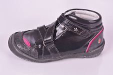 GBB Infant Girls Ladonna Noir Cuir verni Chaussures UK 6 EU 23 US 6.5