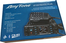 AT-D578UV III plus Tri Band Digital DMR/Analog Mobile Radio APRS GPS + HOTSPOT