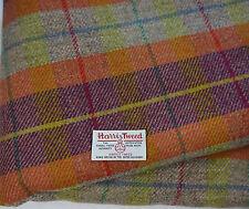 Harris Tweed Fabric & labels 100% wool Craft Material - various Sizes code0715bi