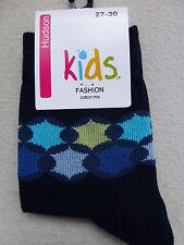 Hudson Calcetines Para Niño Niños Fashion ribete (PVP 4,50) % CO 23-34 Nuevo