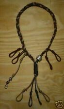 Hand Braided Game Call Lanyard (Duck and Goose)
