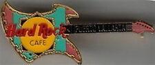 Hard Rock Cafe PUERTO VALLARTA 1990s Aztec GUITAR PIN HRC Catalog #7563