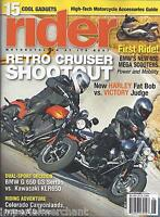Rider Magazine Retro Cruisers Bmw 650 Mega Scooters Kawasaki Riding Adventure