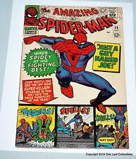 Amazing Spiderman 38 Marvel Comic Book 1966 F+ 2nd Mary Jane Watson!