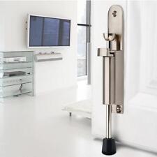 148mm Kick Down Foot Operate Door Stop Rubber Buffe Stopper Prop Stay Silver