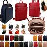 Womens Rucksack Ladies Backpack Girls Travel Shoulder Bag Faux Leather Crossbody