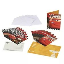 Cars Invite and Thank You Combo, 8 Pack, Party Supplies