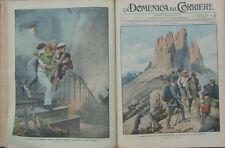 1913 DOMENICA DEL CORRIERE -ANNATA RILEGATA MANCA ULTIMO NUMERO  Idea per Natale