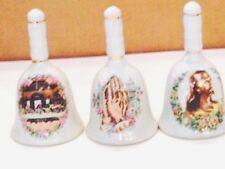 4 Spiritual Dinner Bells, Last Supper, Praying Hands,Jesus Face,Nativity