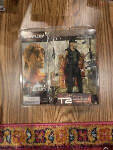 NEW McFarlane Toys 2002 Movie Maniacs Series 5 Sarah Connor T2 Figure Terminator