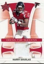 2008 LEAF ROOKIES & STARS DRESS FOR SUCCESS JERSEY HARRY DOUGLAS 151/250 *42769
