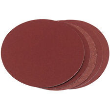 "Clarke CS48 Sanding Discs, Pk of 5 Fine 120 Grit, 8"" or 200mm, Self Adhesive"