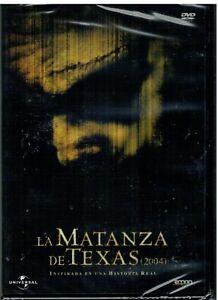 La matanza de Texas (2004) (The Texas Chainsaw Massacre) (DVD Nuevo)