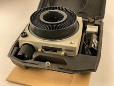 Kodak Eastman Ektagraphic Carousel Slide Projector Af-2 with Accessories Works!