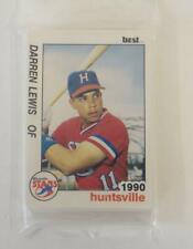 1990 Huntsville Stars Unopened Package Official Best Cards Trading Birmingham