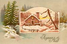 Carte Joyeux NOEL Belle illustration