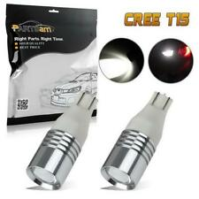 2x Super Bright Cree High Power LED Bulbs For Backup Reverse Lights 912 921 T15